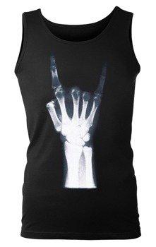 koszulka na ramiączkach X-RAY HAND - MANO CORNUTA