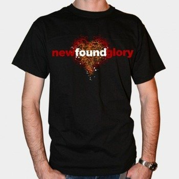 koszulkaI NEW FOUND GLORY - HEART (BLACK)