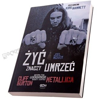 książka ŻYĆ ZNACZY UMRZEĆ autor: J. McIver