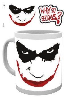 kubek BATMAN (THE DARK KNIGHT) - WHY SO SERIOUS?