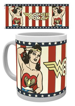 kubek DC COMICS - WONDER WOMAN VINTAGE
