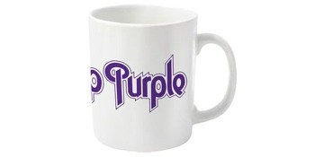 kubek DEEP PURPLE - LOGO