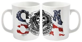 kubek SONS OF ANARCHY - USA LOGO