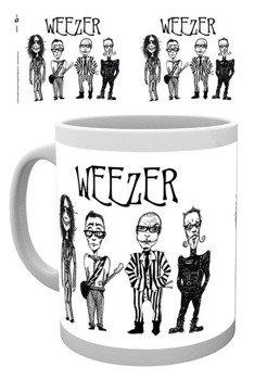 kubek WEEZER - LOGO