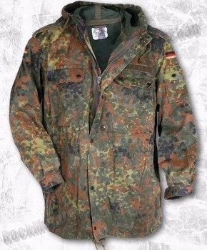kurtka BUNDESWERKA / oryginalna kurtka wojskowa bundeswehry, kolor: flectarn
