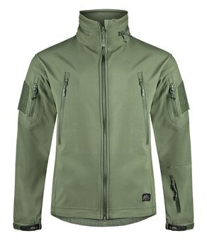 kurtka GUNFIGHTER JACKET SHARK SKIN WINDBLOCKER OLIVE