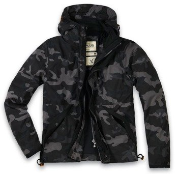 kurtka SAVIOR JACKET BLACK CAMO