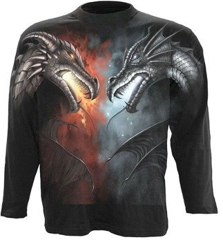 longsleeve DRAGON BATTLE