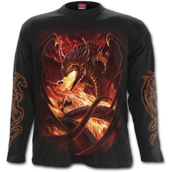 longsleeve DRAGON'S WRATH
