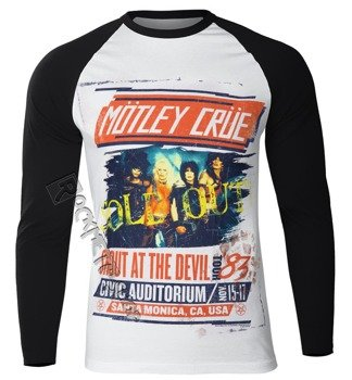 longsleeve MOTLEY CRUE - SATD TOUR POSTER REGLAN