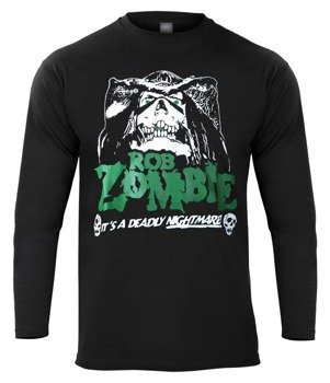longsleeve ROB ZOMBIE - IT'S A DEADLY NIGHTMARE!