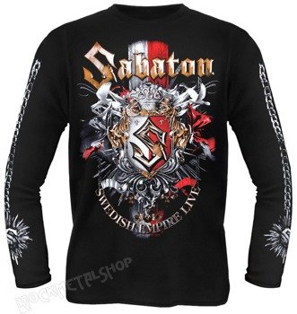 longsleeve SABATON - SWEDISH EMPIRE LIVE