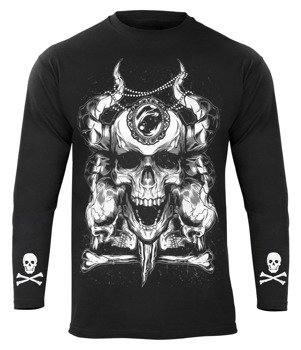 longsleeve SKULLS AND DIAMOND