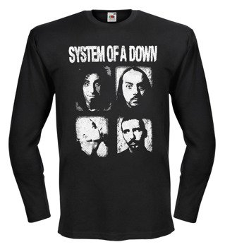 longsleeve SYSTEM OF A DOWN - BAND