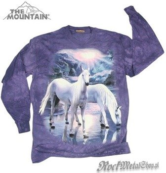 longsleeve THE MOUNTAIN - MYSTICAL HORSES