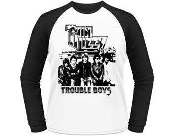 longsleeve THIN LIZZY - TROUBLE BOYS