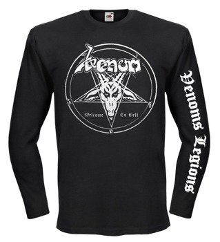longsleeve VENOM - WELCOME TO HELL