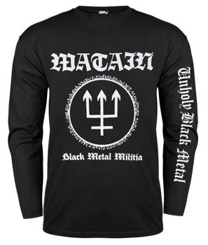 longsleeve WATAIN - BLACK METAL MILITIA