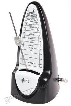 metronom mechaniczny YINDA z dzwonkiem / czarny