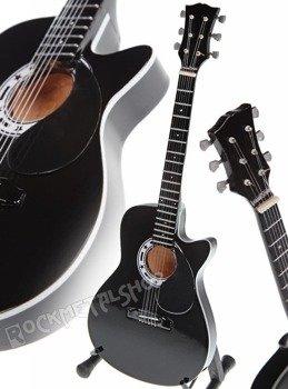 miniaturka gitary JOHNNY CASH - THE MAN IN BLACK