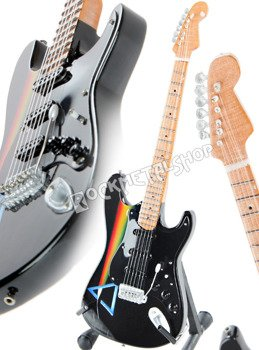 "miniaturka gitary PINK FLOYD - DAVID GILMOUR: ""PRISMA"" STRAT STYLE"