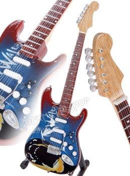"miniaturka gitary PINK FLOYD - STRAT ""THE WALL"" STYLE"