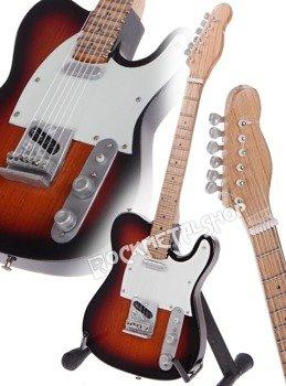 miniaturka gitary RADIOHEAD - JOHNNY GREENWOOD: TELE SUNBURST