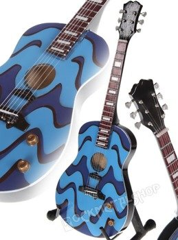 "miniaturka gitary THE BEATLES - JOHN LENNON: GIBSON ACOUSTIC ""The Psychedelic"""