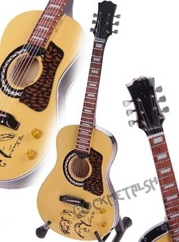 miniaturka gitary THE BEATLES - JOHN LENNON: PEACE GIBSON ACCOUSTIC