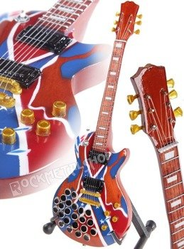 miniaturka gitary ZAKK WYLDE: REBEL & BEERCAPS