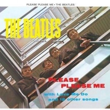naklejka BEATLES - PLEASE PLEASE ME