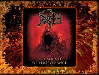 naklejka DEATH - THE SOUND OF PERSEVERANCE
