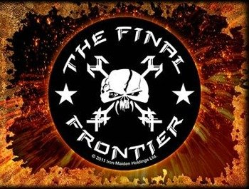 naklejka IRON MAIDEN - THE FINAL FRONTIER SKULL