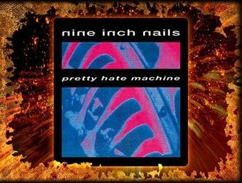 naklejka NINE INCH NAILS - PRETTY HATE MACHINE