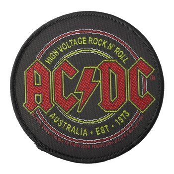 naszywka AC/DC - HIGH VOLTAGE ROCK N' ROLL