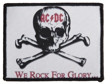 naszywka AC/DC - WE ROCK FOR GLORY