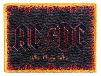 naszywka AC/DC - WHO MADE WHO