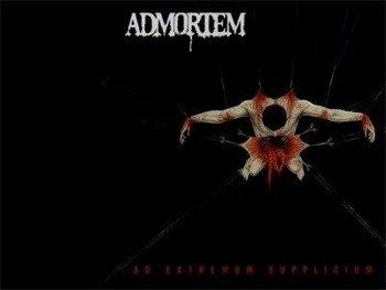 naszywka ADMORTEM - AD EXTREMUM SUPPLICIUM