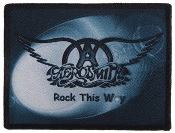 naszywka AEROSMITH - ROCK THIS WAY