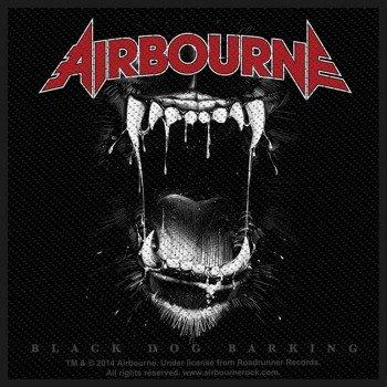 naszywka AIRBOURNE - BLACK DOG BARKING