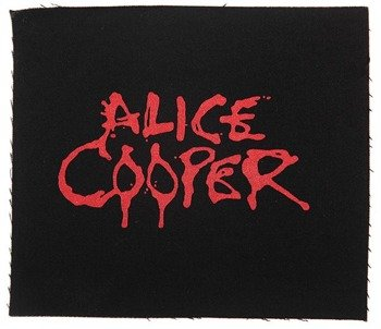 naszywka ALICE COOPER - LOGO RED