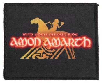 naszywka AMON AMARTH - WITH ODEN ON OUR SIDE