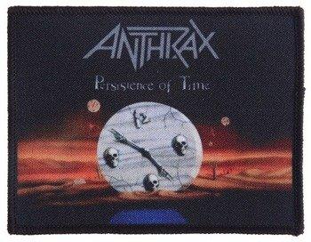 naszywka ANTHRAX - PERSISTENCE OF TIME