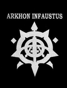 naszywka ARKHON INFAUSTUS - LOGO