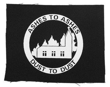 naszywka ASHES TO ASHES...