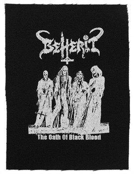 naszywka BEHERIT - THE OATH OF BLACK BLOOD