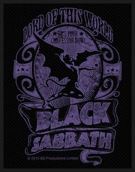 naszywka BLACK SABBATH - LORD OF THIS WORLD
