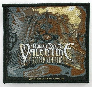 naszywka BULLET FOR MY VALENTINE - SCREAM AIM FIRE
