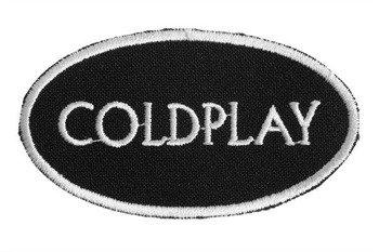 naszywka COLDPLAY - LOGO WHITE