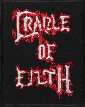 naszywka CRADLE OF FILTH - LOGO red